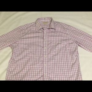 Men's Lavender Tommy Bahama Shirt 17 1/2 , 36-37